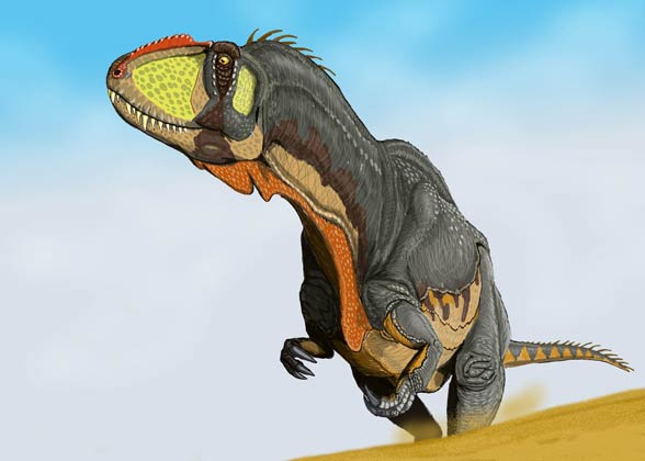 Yangchuanosaurus - smart Asian warrior | DinoAnimals.com