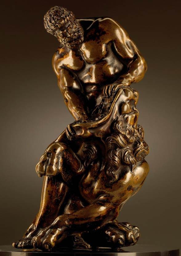 Hercules versus Nemean lion.