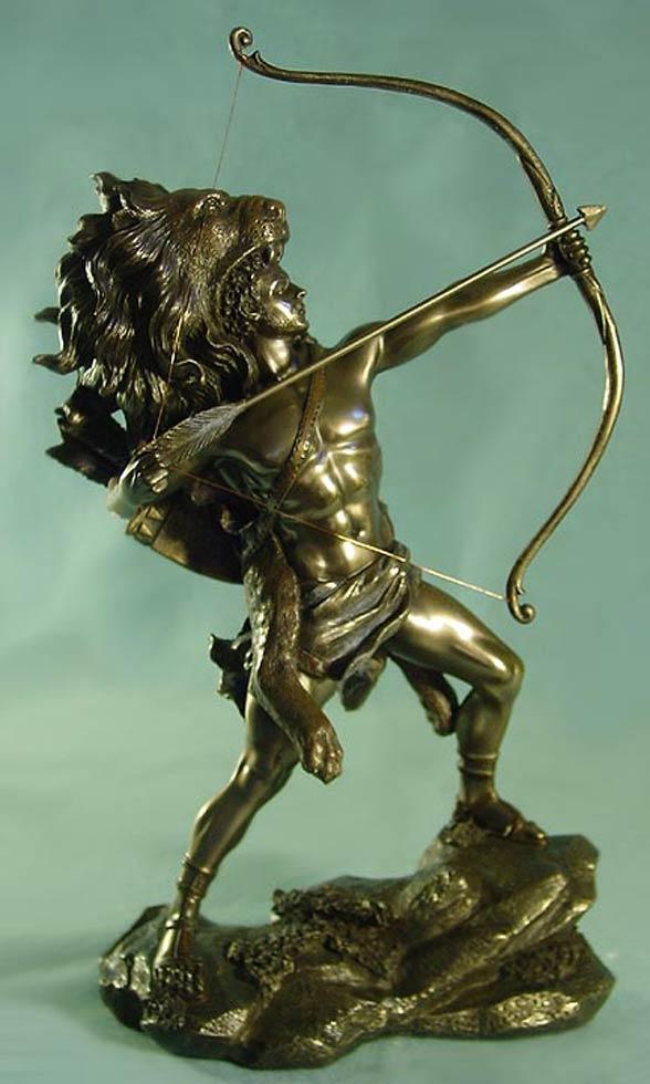 Hercules versus Nemean lion