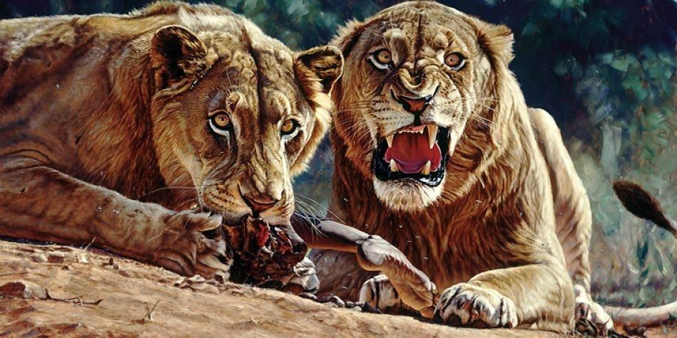 Tsavo Lions Man Eaters Of Tsavo Dinoanimals Com
