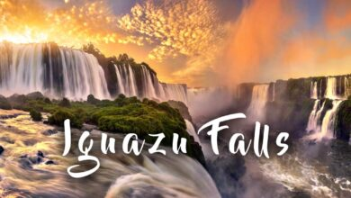Photo of Iguazu Falls – one of the largest waterfalls