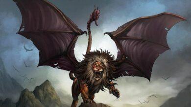Photo of Mythological lions – Manticore